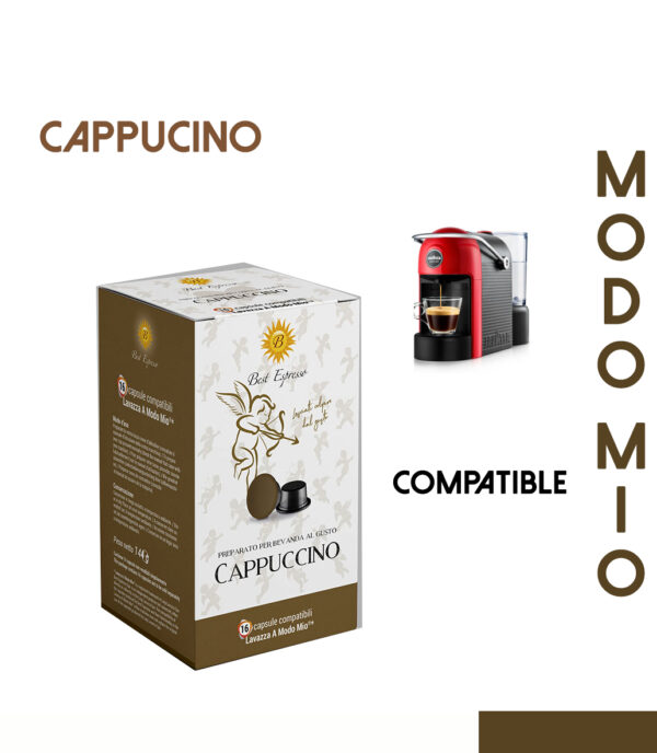 48 CAPSULES DE CAPPUCCINO COMPATIBLES LAVAZZA MODO MIO