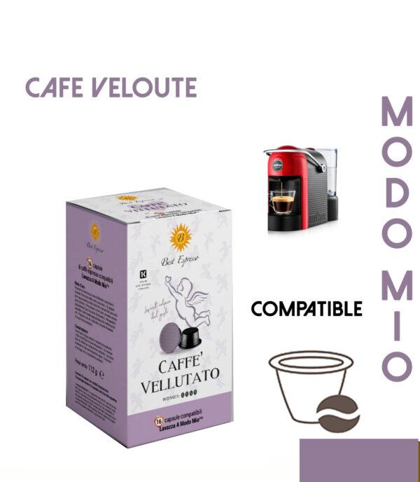48 CAPSULES DE CAFÉ VELLUTATO COMPATIBLES LAVAZZA MODO MIO